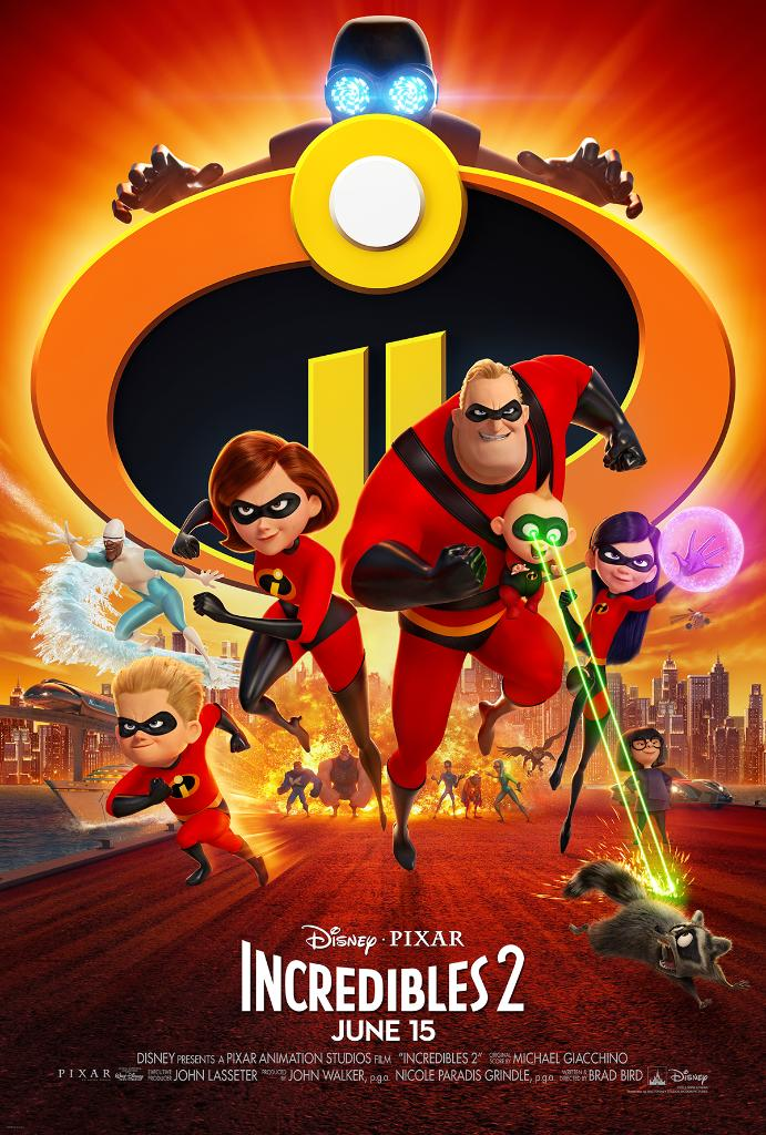 Incredibles 2 Movie Poster Family